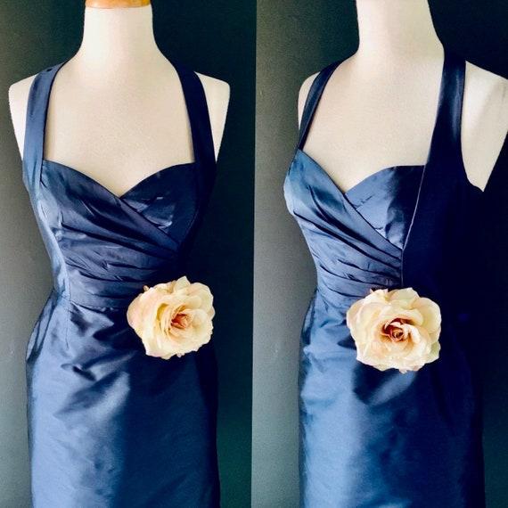 60s dress Vintage dress 1960s dress HALTER dress P