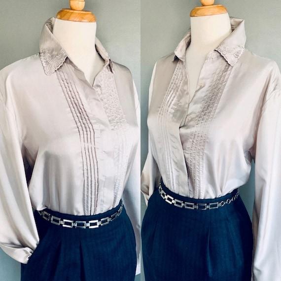 80s blouse/ 1980s blouse/ Vintage blouse/80's blo… - image 1