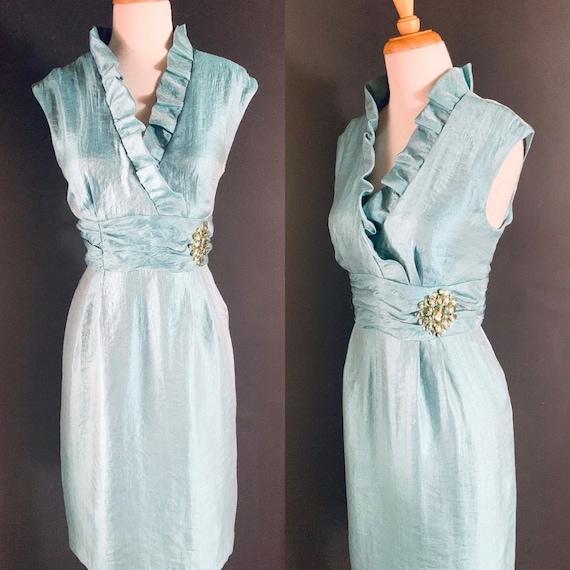 Vintage dress/1960s dress/ 60s dress style/ Cockta