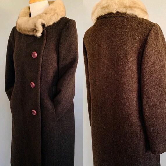 1960s Coat/ Vintage coats women/60's coat/1960's … - image 5