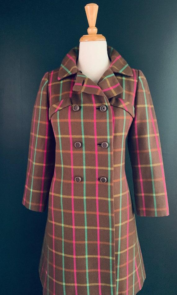 1960s Coat Vintage 60s  coat Boho  1960s Princess… - image 9