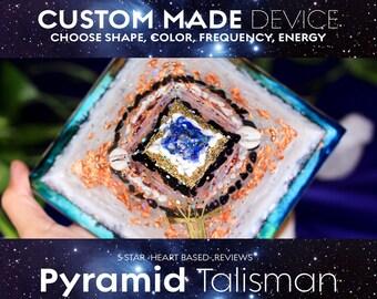 Custom MEDIUM Pyramid - Jedi Tools - Energy Battery - Soul Empowerment - Circulate Energy