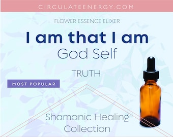 I Am that I Am - Starseed, Soul Purpose Flower Essence - Focus, Motivation, Soul Mission - Blooms, Bees, Butterflies - Emotional Support