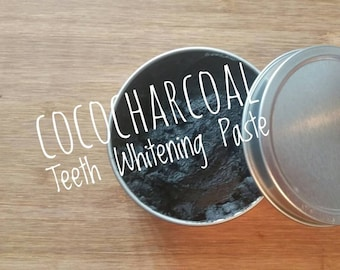 Coco Charcoal Whitening Toothpaste! All natural, coconut oil and activated charcoal