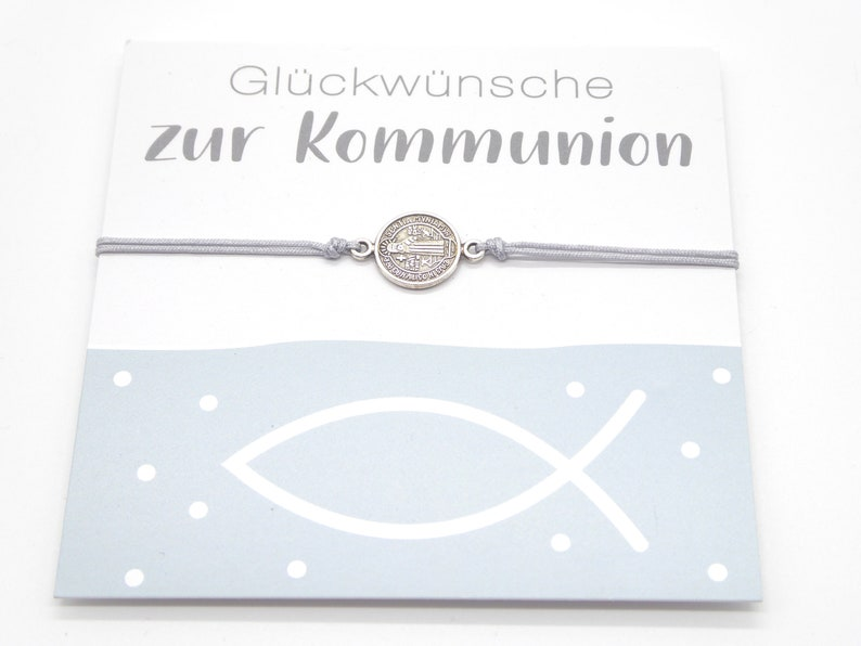 Gift for confirmation / communion delicate bracelet with image 0
