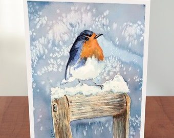 Set of 4 Cards with Envelopes Bluebird