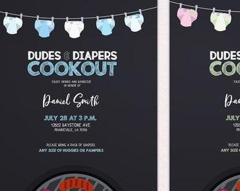 baby q shower invitation diy custom gender reveal party baby etsy