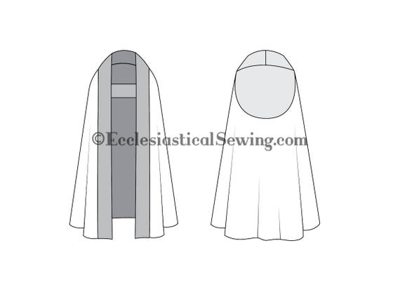 Priest Clergy Cope Church Vestment Pattern