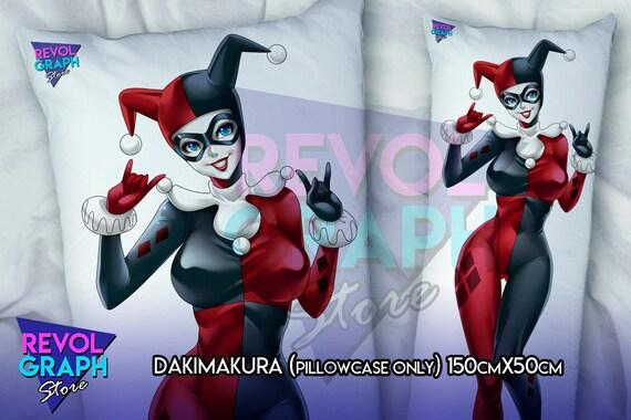 Full Body Pillow Case.Fullbody Pillow Case Dakimakura Harlequin Villain