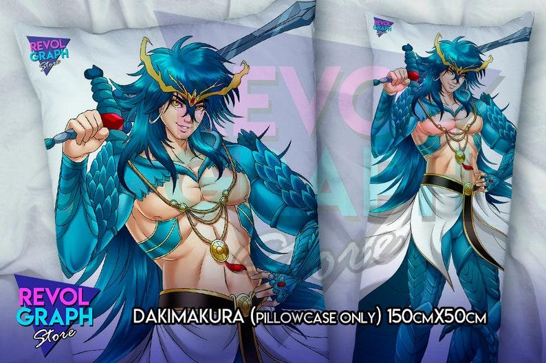0c8e10eb4 Fullbody pillow case Dakimakura Sinbad Baal Equipment | Etsy