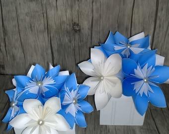 Paper Flower Decoration - Table Decor - Kusudama Paper Flower Centrepiece - Paper Flower Kissing Ball