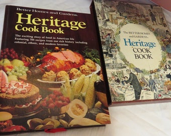 1975 Heritage Cookbook, Better Homes and Gardens