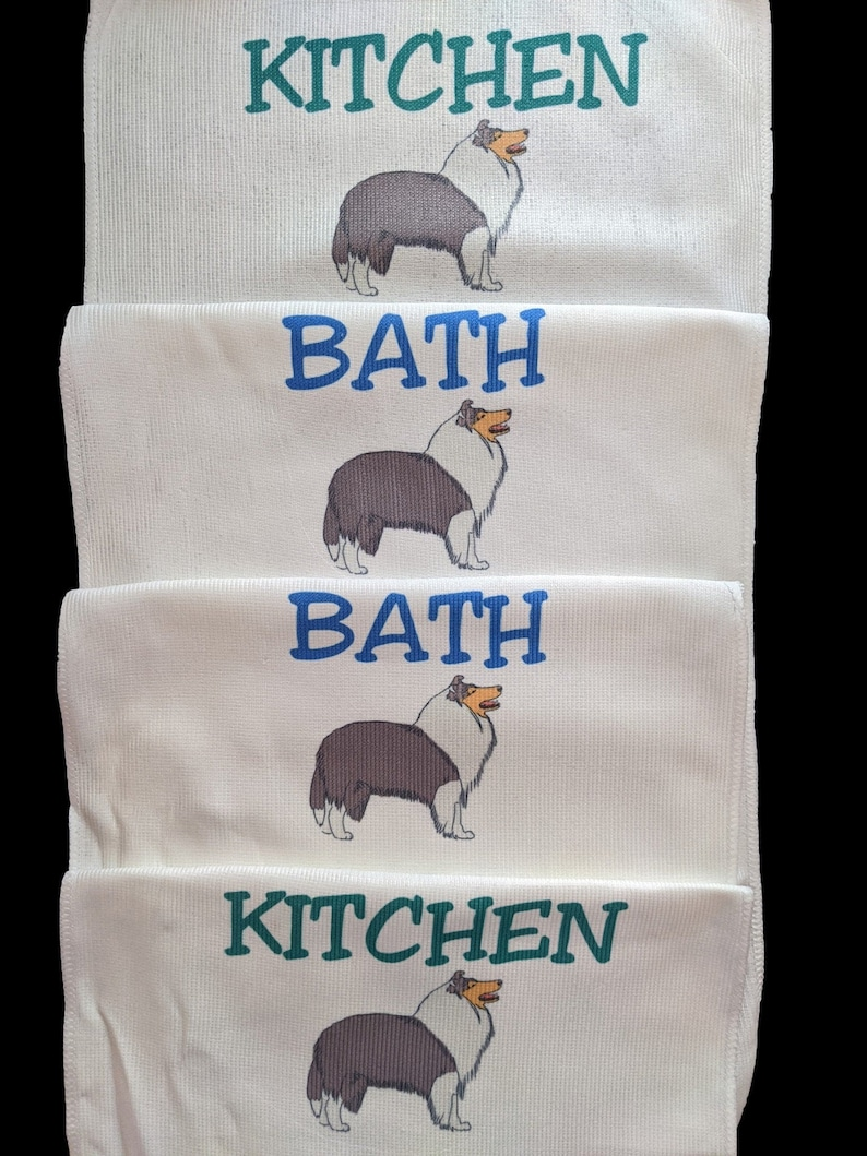 Microfiber and Terry Cloth  17x11 towels image 0