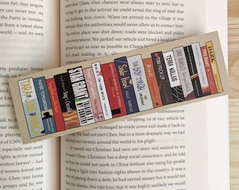 First Nations Reads bookmark - Fundraiser for Indigenous Literacy Foundation - Reading List - Aboriginal Authors - Gift for Readers