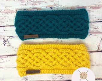 Custom Knit Headband, Multicolored Headband, Knitted Ear Warmer, Knit Headband, Fall Accessory, Winter Gift, Mystery Gift, Gift for Her