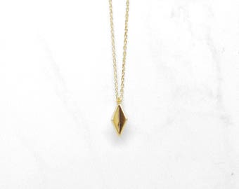Abby Necklace Gold