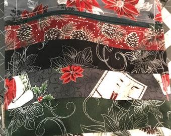 Christmas Tote Bag w/pocket