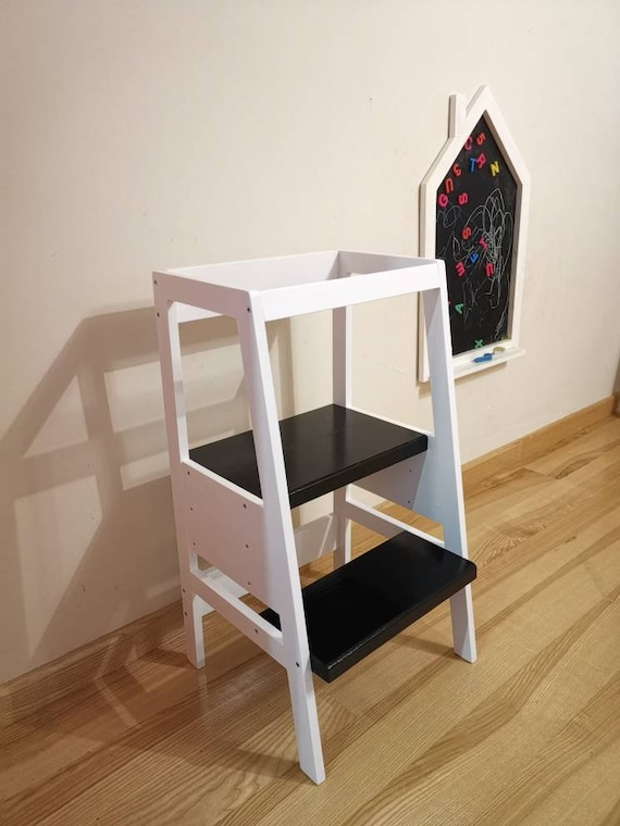Learning Tower Toddler Kitchen Helper Toddler Step Stool Montessori Tower