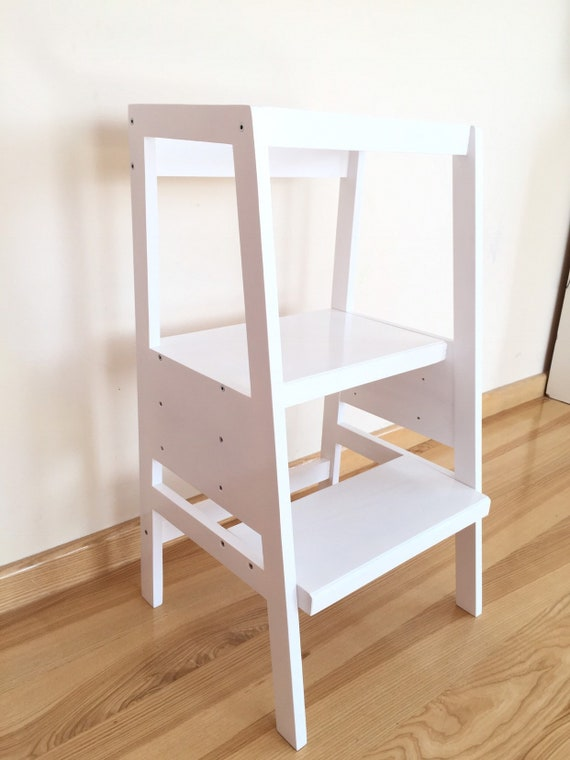 Strange Learning Tower Toddler Kitchen Helper Toddler Step Stool Montessori Tower Onthecornerstone Fun Painted Chair Ideas Images Onthecornerstoneorg