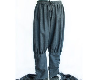 Trousers Viking style- LARP, Cosplay,SCA Costume
