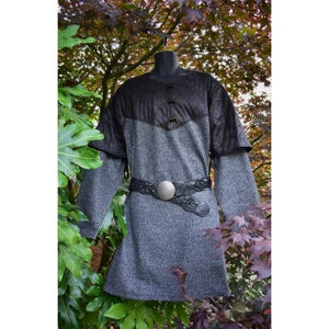 cosplay blue tunic mens tunic king crown robe cosplay Medieval cloak LARP Viking knight king costume mage cosplay male costume