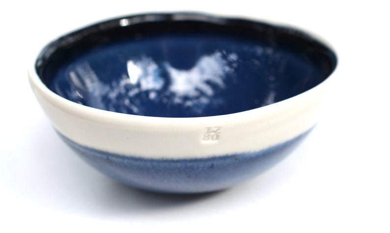 Indigo Porcelain Bowl