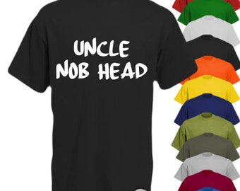 This is What an Uncle Nob Head Looks Like Mens Funny Hoodie Fathers Day Gift