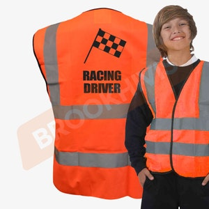 CAUTION YOUNG CHILD ADULT YELLOW VEST HI VIZ VIS CYCLE WAISTCOAT TABARD SAFETY