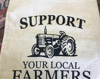 Support Your Local Farmers Market Tote