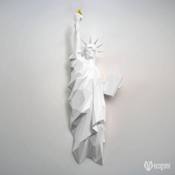 Estatua de la libertad de Nueva York Decoración de pared | Etsy