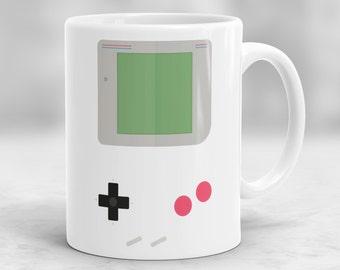 Game Boy Mug, Nintendo Mug, Video Game Mug, Gameboy Coffee Mug, Gamers Birthday Present, Gamers Gift, Retro Gameboy Mug, Office Mug P27