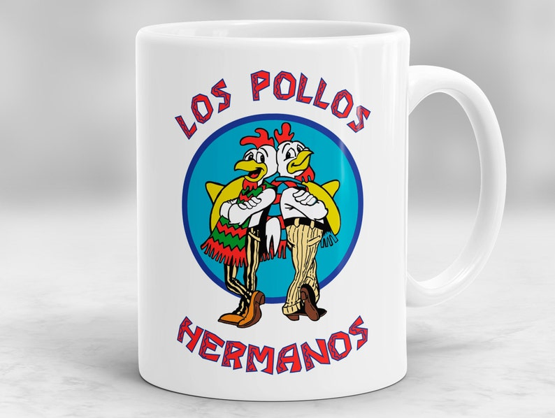 Pollos Hermanos MugBreaking Mug Bad GiftInspired Coffee P50 Los nOPkX80w