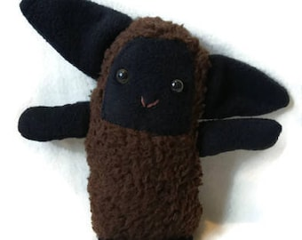 Plush Black Sheep Etsy