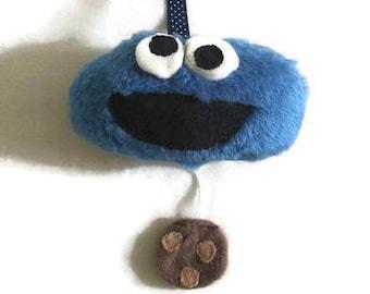 Cookie monster sesamestreet pullstring music box baby gift