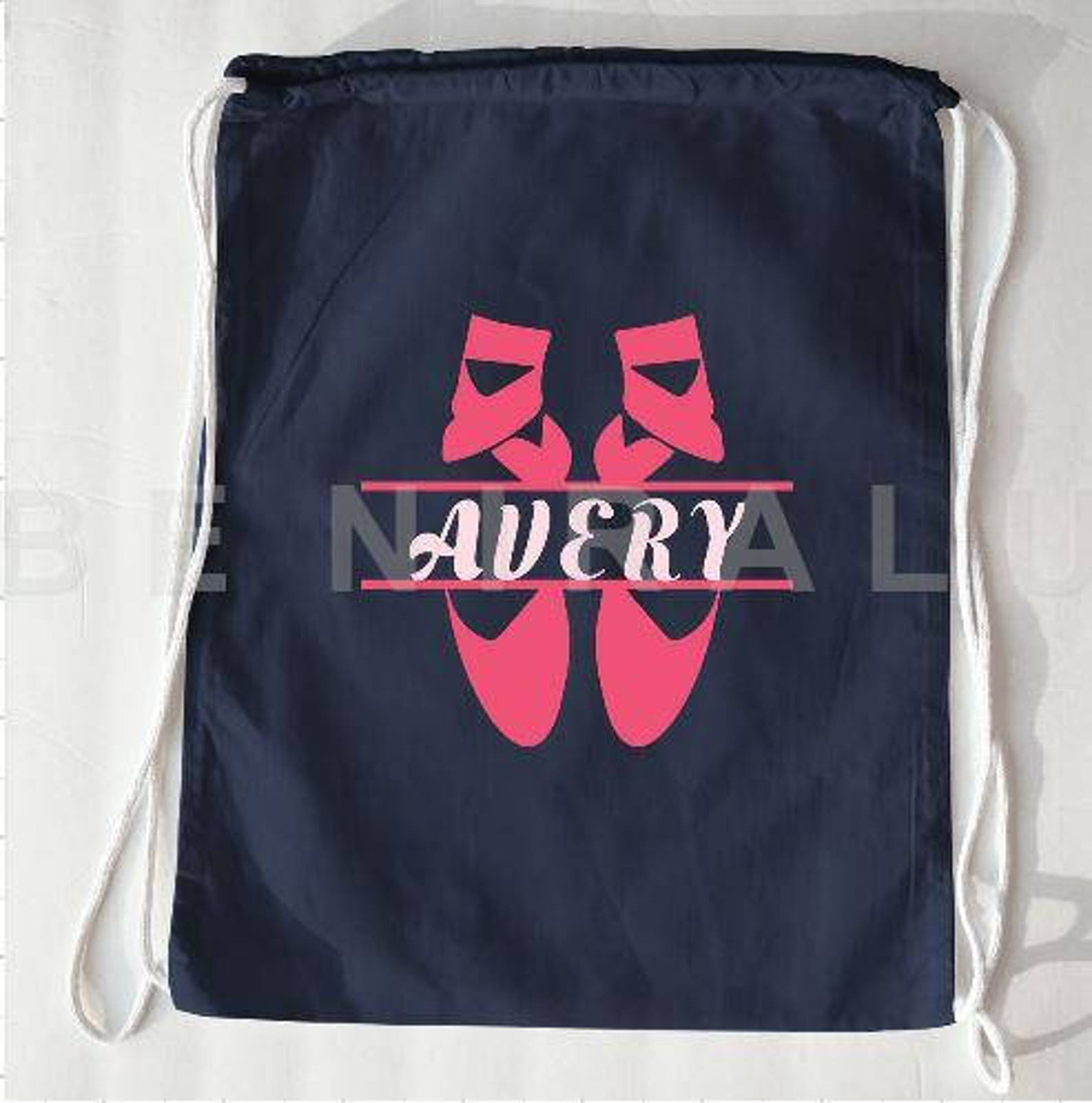 ballet drawstring bag | ballet bag | personalized ballet bag | girls dance bags | ballet gifts | personalized dance bag | ballet