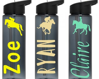 Horse Gifts   Horse Lover Gift   Personalized Horse bottle   Gift for Horse Lover   Equestrian Gift   Horse Owner Gift   Horse Back Rider