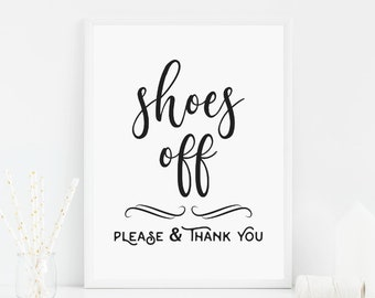 Remove Shoes Sign, Shoes Off Sign, Please Remove Shoes, No Shoes Door Sign, Front Door Sign, Take Off Shoes, Please Leave Your Shoes