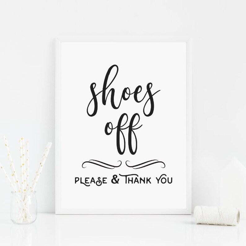 Segno di rimuovere scarpe scarpe sconto segno si prega di  e6ab84056d0