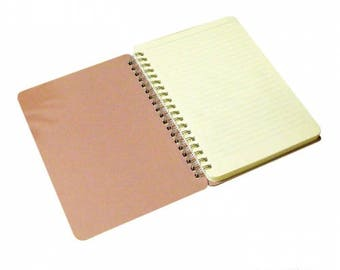 Natural Wood Hooped Notebook A5
