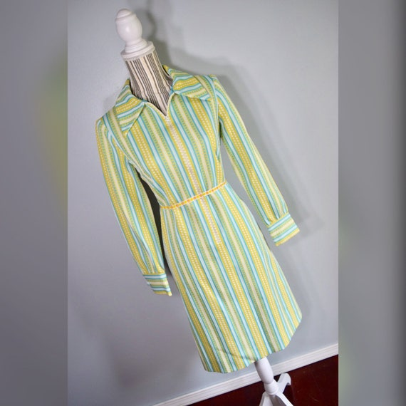 Vtg 60s L'Aiglon Dress Sz 10