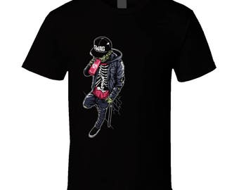 Left Side Swag Zombie T-shirt