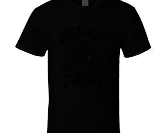 Just Ride T Shirt