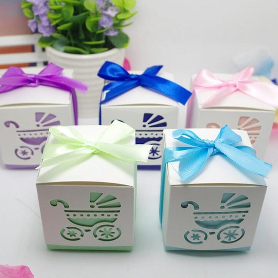 50 Baby Carriage Favordiy Baby Shower Favorbaby Carriage Etsy