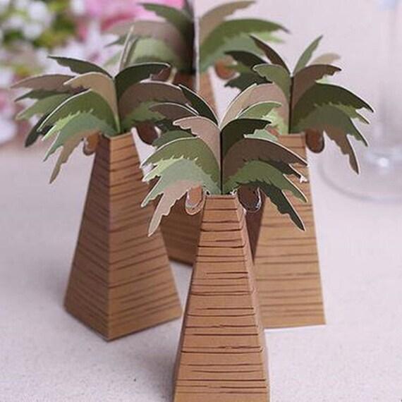 100 DIY Palm Tree Wedding Favors/Beach Wedding Favors/Tropical | Etsy