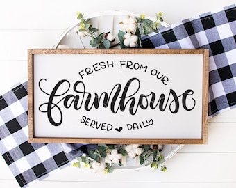 Farmhouse signs / Mats