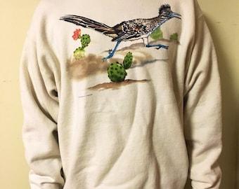 Vintage Roadrunner Crew Neck Sweatshirt