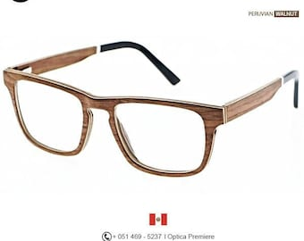 3cf3784b39545 Luxury Wood Eyewear Peruvian Walnut