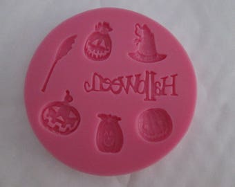 Silicone mould for Halloween-themed sugar paste decoration #4