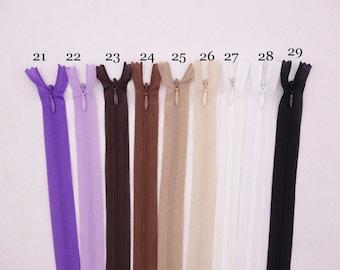 invisible zipper 60 cm
