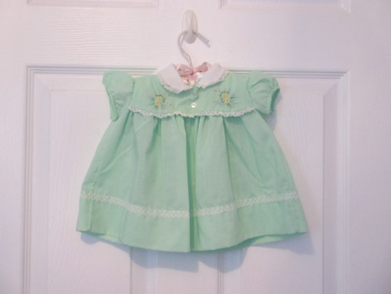 Mint Green Infant Baby Girl/'s Dress